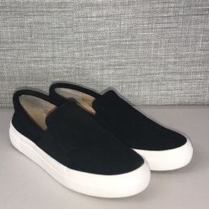 Vince Camuto Kaylinn Black Slip On Sneakers - 7.